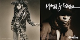 Lenny Kravitz/Mary J. Blige『It Ain't Over Til It's Over c/w Real Love』(¥1,800+税/7インチ・レコード)【画像をクリックしてWeb Shopへ】